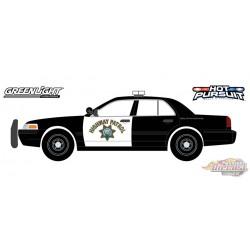 2008 Ford Crown Victoria Police Interceptor - California Highway Patrol - Greenlight 1/24 - 85523 -  Passion Diecast
