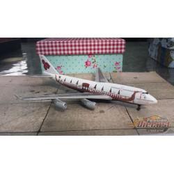 "Dragon Wings 1/400 Boeing 747-400 Thai Airways ""Dragon Boat"" / HS-TGJ / NO BOX - Passion Diecast"