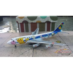 "Dragon Wings 1/400 Boeing 747-400 All Nippon Airways ""Docket Monsters"" / JA8965 / NO BOX - Passion Diecast"