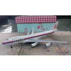 Dragon Wings 1/400 Boeing 747-400F Cargolux / LX-ICV / NO BOX - Passion Diecast
