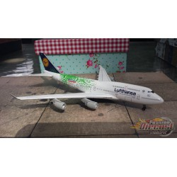 """Dragon Wings 1/400 Boeing 747-400 Lufthansa """"Expo 2000 Hannover"""" / D-ABVK / NO BOX - Passion Diecast"""