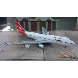 Dragon Wings 1/400 Boeing 747-400 Qantas / VH-OJA / NO BOX - Passion Diecast