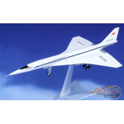 Tupolev TU-144D Aeroflot / CCCP-77114 / Herpa Wings 1:200 /  HE570633 - Passion Diecast