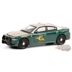 2018 Dodge Charger - New Hampshire State Police - Hot Pursuit 36 - 1-64 Greenlight 42930 E - Passion Diecast