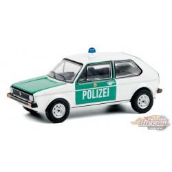 1974 Volkswagen Golf Mk1 - Germany Polizei - Hot Pursuit 36 - 1-64 Greenlight 42930 B - Passion Diecast