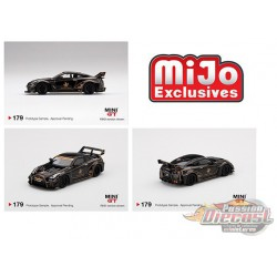 LB-Silhouette WORKS GT NISSAN 35GT-RR Ver.1 JPS ( John Players Special ) -  MINI GT 1:64 -  MGT00179 - Passion Diecast
