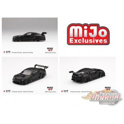 Bentley Continental GT3 Test Car -  MINI GT 1:64 - Mijo Exclusive - MGT00177 - Passion Diecast