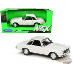 1963 Mercedes Benz 230SL Coupe Beige  - Welly 1/24 - 24093 CRM - Passion Diecast