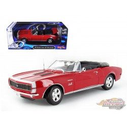 Chevrolet Camaro SS396 1967 Convertible Red - Maisto 1/18 -  31684 RD - Passion Diecast