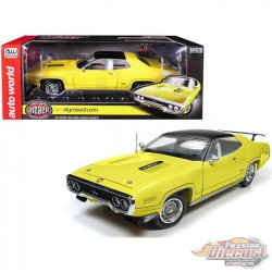 1971 Plymouth GTX  (MCACN) FY1 Lemon Twist - Auto World / American Muscle 1/18 - AMM1186 -  Passion Diecast