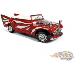 1948 Greased Lightning, Red  - Auto World / American Muscle 1/18 - AMM955