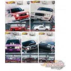 Hot Wheels 1:64 Car Culture 2020  ''T'' Case Power Trip -  Assortment -  SET OF 5 CARS - FPY86-956T - Passion Diecast