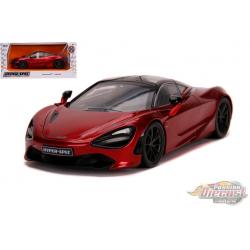 "MCLAREN 720S  Red  ""Hyper-Spec"" - Jada 1/24 - 32275 - Passion Diecast"