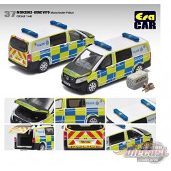 Mercedes-Benz Vito Manchester Police - Era  Car 1/64 - MB20VITRN37 -  Passion Diecast