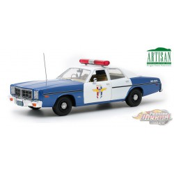 1978 Dodge Monaco - Crystal Lake Police -  Greenlight 1/18 -  Artisan 19068  PASSION DIECAST