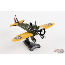 Boeing P-26 Peashooter US Army Air Corps / POSTAGE STAMP 1/63  PS5560-2 - Passion Diecast