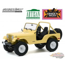 1980 Jeep CJ-5 - Charlie's Angels -  Greenlight 1/18 - Artisan Collection - 19078  Passion Diecast