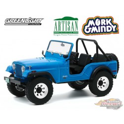 1972 Jeep CJ-5 - Mork & Mindy -  Greenlight 1/18 - Artisan Collection - 19079  - Passion Diecast