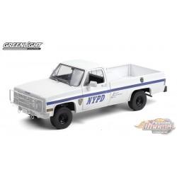 1984 Chevrolet CUCV M1008 - New York City Police Department (NYPD) - Blanc   - 1/18  Greenlight - 13561
