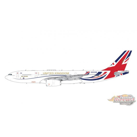 """Airbus A330-200 MRTT Voyager Tanker / Royal Air Force """"Brexit"""" - Gemini 200 - G2RAF919 - Passion Diecast"""