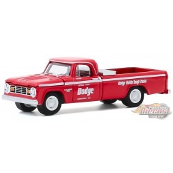 1965 Dodge D-200 49th  500 Mile  Official Truck -  greenlight 1/64 - Hobby Exclusif - 30184 -  Passion Diecast