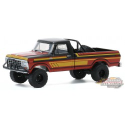 1978 Ford F-250 with Off-Road Parts  - All-Terrain  Series 10 - 1-64 greenlight - 35170 C - Passion Diecast