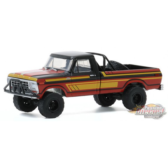 1978 Ford F-250 with Off-Road Parts   - All-Terrain Series 10  1-64 greenlight 35170 C - Passion Diecast