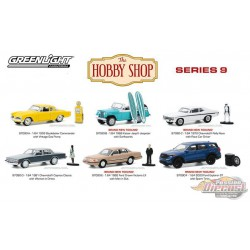 The Hobby Shop Series 9 assortment  1/64 Greenligh t-  97090  - Passion Diecast
