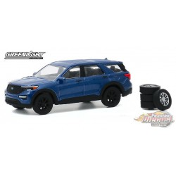 2020 Ford Explorer ST with Spare Tires - The Hobby Shop Series 9 -  1/64 Greenligh t-  97090 F  - Passion Diecast