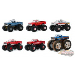 Kings of Crunch Series 7 -  Assortment  1-64 greenlight 49070 - Passion Diecast