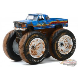 Bigfoot No 7 - 1996 Ford F-250 Monster Truck (Dirty Version)  -Kings of Crunch Series 7 -  1-64 greenlight 49070 F