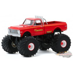 Texas Tumbleweed - 1972 Chevy C-10 Monster Truck - Kings of Crunch Series 7 -  1-64 greenlight 49070 B - Passion Diecast