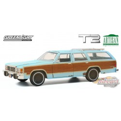 1980 Ford LTD Country Squire - Terminator 2: Judgment Day -  Greenlight  Artisan Collection  1/18 - 19085 -  Passion Diecast