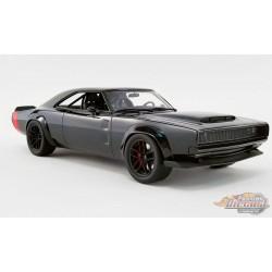 1968 DODGE SUPER CHARGER CONCEPT -BLACK  GT SPIRIT US029 - Passion Diecast