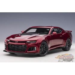 Chevrolet Camarao ZL1 2017 - Garnet Red Metallic  - Autoart 1-18 - 71208 -  Passion Diecast