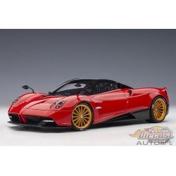 Pagani Huayra Roadster Rosso Monza / Red -  AUTOART -  1/18 - 78287  -  Passion Diecast