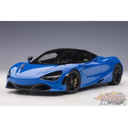 McLaren 720S  Paris Blue -  AUTOART 1/18 - 76073 - Passion Diecast