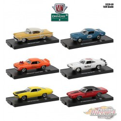 Auto-Drivers Release 69  Assortment of 6 - M2 Machines 1-64 - 11228-69 -  Passion Diecast