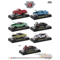 Auto-Meets  Release 52   Assortment of 6 - M2 Machines 1-64 - 32600-52 - Passion Diecast