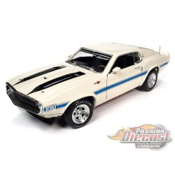 1970 Shelby GT-500 White - Class of 1970 - Auto World / American Muscle 1/18 - AMM1229 -  Passion Diecast