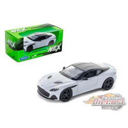 Aston Martin DBS Superleggera White  - Welly 1/24 - 24095 WH - Passion Diecast