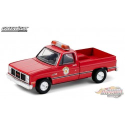1987 GMC High Sierra - Arlington Heights, Illinois Public Works - greenlight 1/64  Hobby Exclusive - 30213  - Passion Diecast