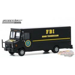 2019 Step Van - FBI Bomb Technicians -  H.D. Trucks Series 19 - Greenlight 1/64 - 33190 C - Passion Diecast