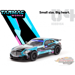 Mercedes Benz AMG GT4 No18 Greater Bay Area GT Cup Macau 2019 Winner - Tarmac Works  1/64  - T64-006-19MGP18 - Passion Diecast