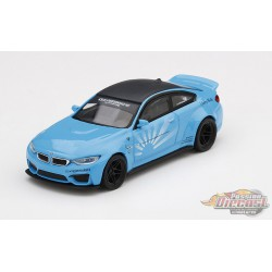 LB Works BMW M4 White  -  MINI GT  - Passion Diecast 1:64 - Mijo Exclusive - MGT00161 - Passion Diecast