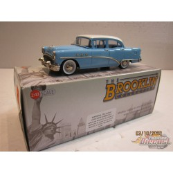 1954 Buick Special  Four Doors Artic White / Malibu Blue - Brooklin 1/43 BRK.180 - Passion Diecast