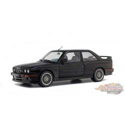 BMW E30 M3  EVO 1990  Black -  Solido  1/18 - S1801501  -  Passion Diecast