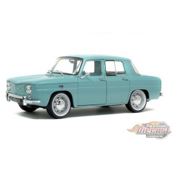 1968 Renault 8 Major Light Blue  -  Solido  1/18 - S1803601-  Passion Diecast
