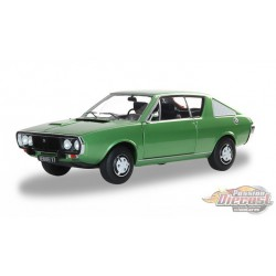 1976 Renault 17 MKI  Green  -  Solido  1/18 - S1803701  - Passion Diecast
