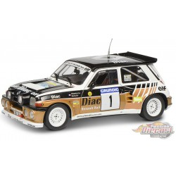 Renault 5 Maxi Rallye du Var 1986 F. Chatriot No1  -  Solido  1/18 - S1804705 - Passion Diecast